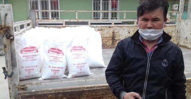 Eskişehir Türk Ocağı'ndan Ramazan boyunca 2 bin civarında aileye erzak yardımı