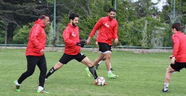 Eskişehirspor'da çift kale maç günü