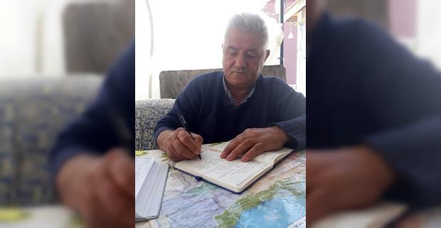Şiirlerini 46 yıldır ajandasına yazıyor