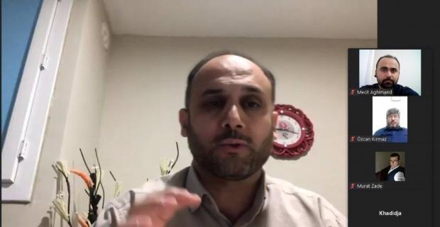 UDEF Başkanı Bolat, Eskişehir'de yaşayan misafir öğrencilere konuştu
