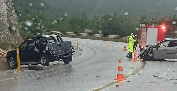 Zincirleme trafik kazasında 5 kişi yaralandı