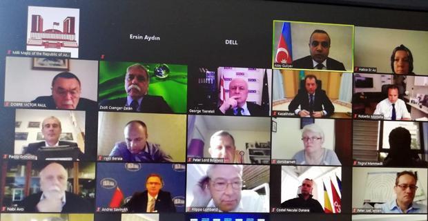 AGİTPA İpek Yolu Destek Grubu web semineri düzenlendi