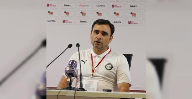 """Altay Antrenörü: """"Sert bir oyun oldu"""""""