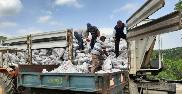 Hisarcık'ta 463 aileye kömür yardımı
