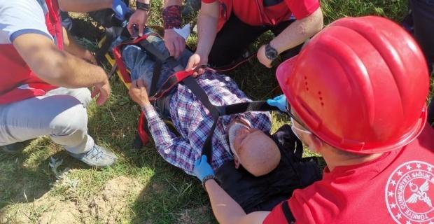 Kaybolan Ali İsmail dede 10 saat sonra ormanda bulundu