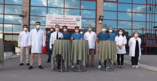 Korona virüse karşı Türkiye'de bir ilk
