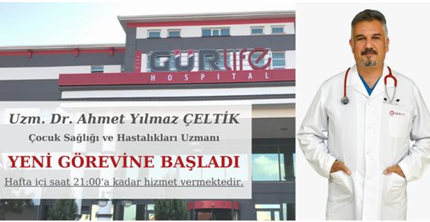 Çocuk Doktoru Ahmet Yılmaz Çeltik Gürlife'ta