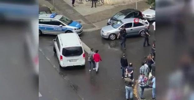 Almanya'da aksiyon sahnelerini aratmayan kovalamaca