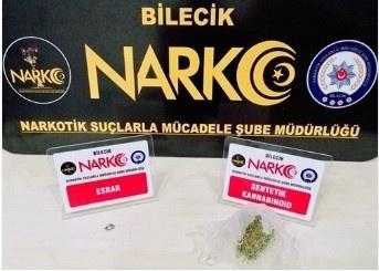 Bilecik'te uyuşturucu operasyonu, 2 kişi tutuklandı