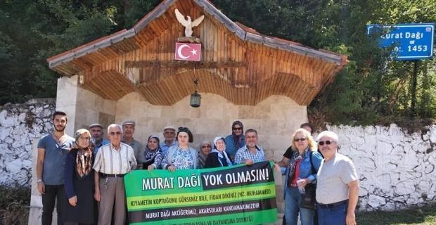 """Dernek Başkanı Mustafa Er: """"Gediz Murat Dağı artık özgür"""""""
