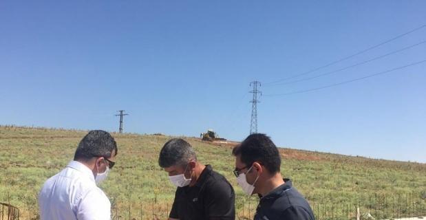 Emirdağ'da 'teknolojik' mezarlık yapımı devam ediyor