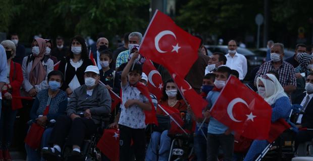 Eskişehir'de 15 Temmuz etkinliği