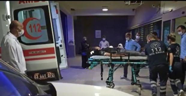 Kopan 3 parmak  hastaneye getirildi