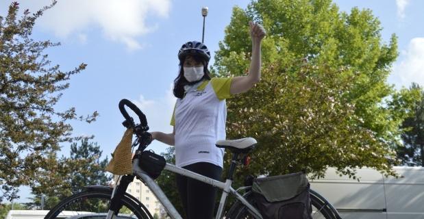 Virüsten korumak için arabadan in, bisiklete bin