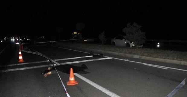 Traktör, otomobil ve ticari aracın karıştığı kazada 1 kişi öldü