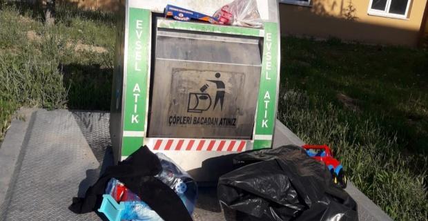 Vadişehir ve Ihlamurkent'de çöp tepkisi