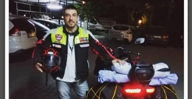Genç gezgin motosiklet kazasında hayatını kaybetti