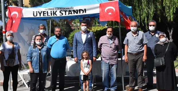 AK Tepebaşı'nda üyeliklere devam