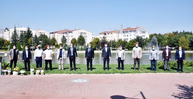 Başkan Çalışkan, STK'lar ve Meslek Odaları temsilcileriyle buluştu