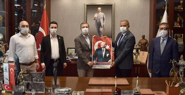 CHP Söğüt İlçe Teşkilatı'ndan Ataç'a Ziyaret