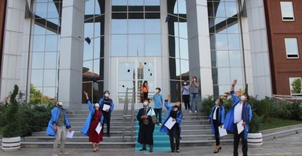 DPÜ'de mezuniyet törenleri tamamlandı