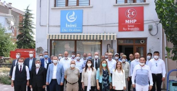 MHP kongre sürecini İnönü ile tamamladı