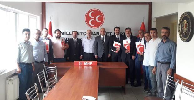 MHP Odunpazarı'nda Mahalle Başkanları Belirleniyor