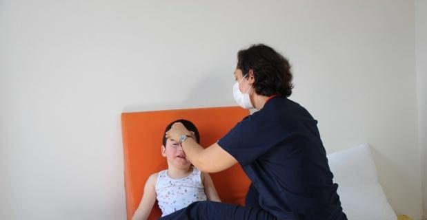 Minik Arda sağlığına Türkiye'de kavuştu