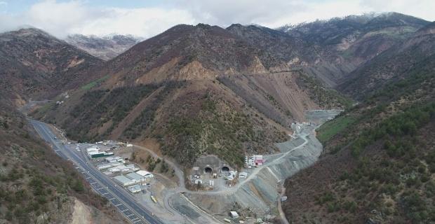 Türkiye'nin en uzun çift tüplü karayolu tüneli
