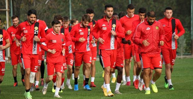 Akhisarspor maçı hazırlıkları başladı