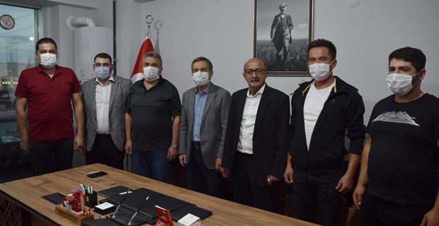 Ataç'tan TÜMBİFED'e Hayırlı Olsun Ziyareti