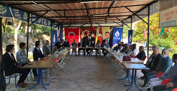 DEVA Partisi Sivrihisar İlçe Başkanı Şenol Çakır oldu