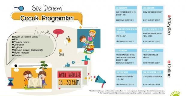 Güz dönemi çocuk programları başlıyor