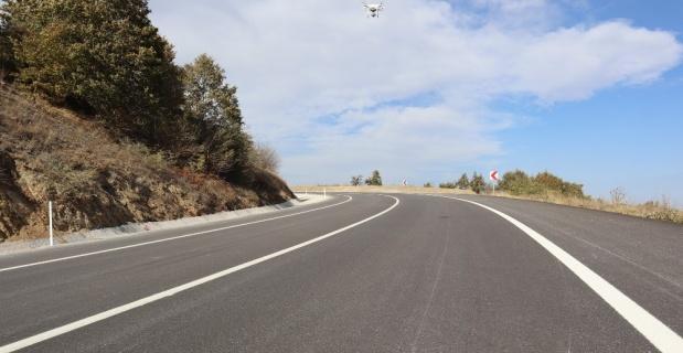 Yenilenen Söğüt-Eskişehir karayolu trafiğe açıldı