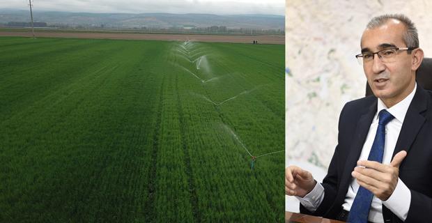 325 Bin 500 Dekar Tarım Arazisi  Sulandı