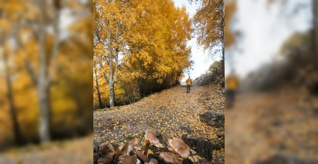 Afyonkarahisar'da kartpostallık sonbahar manzaraları