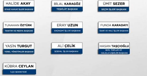 AK Parti Odunpazarı'nda yürütme kurulu belli oldu