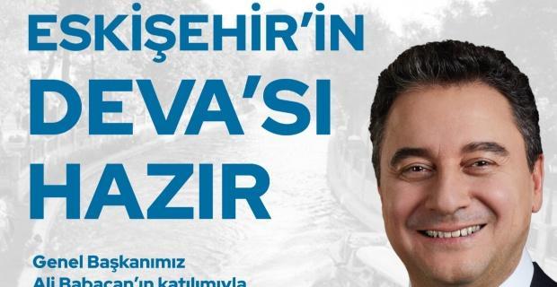 Ali Babacan Eskişehir'e geliyor