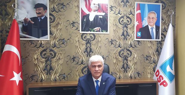 DSP'de Salih Güven yeni il başkanı oldu