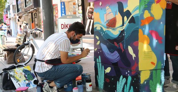 Eskişehir'de sanat her yerde