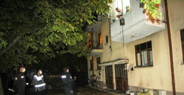 Hisarcık'ta evlerde gece misafir denetimi