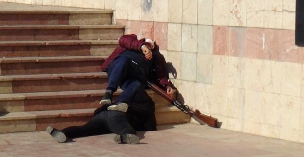 Kayınpederini öldüren, eşini de ağır yaralayan şahıs tutuklandı