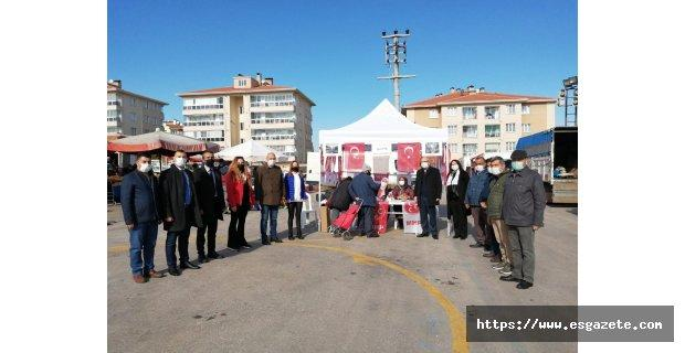 MHP Odunpazarı imza kampanyasına devam ediyor