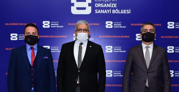MÜSİAD üst yönetiminden OSB'ye ziyaret