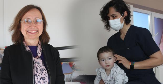 Özbekistanlı ailenin yüzüEskişehir'de güldü