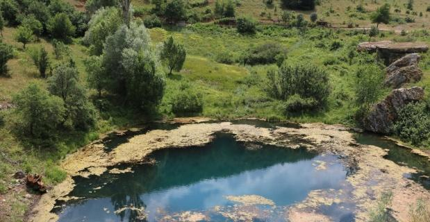 Sivas'ın doğa harikası gölü ve şelalesi tescillendi