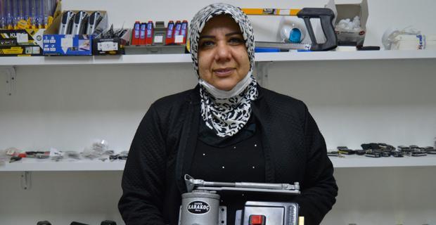 Türkiye'nin ilk kadın çilingirinden kış tavsiyeleri