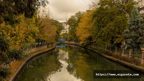 Türkiye'nin Venedik'i sonbahar renklerinde