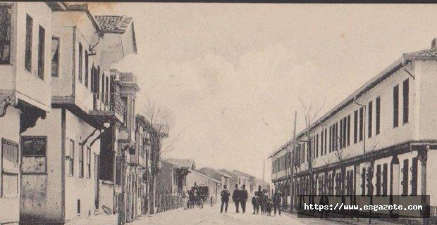 20. yüzyıl başı Eskişehir doktorlar caddesi