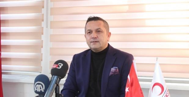 Afyon Kızılay Şube Başkanı istifa etti